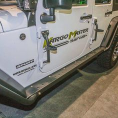 Beyond making roof racks Kargo Master also makes these slick side steps that…