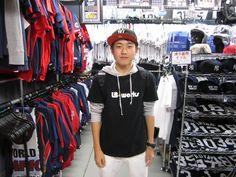 【新宿1号店】2014.09.21 帽子をご購入されたお客様にスナップにご協力頂きました☆ハロウィン限定のキャップがとてもお似合いです。またのご来店お待ちしております☆