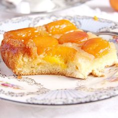 The easiest apricot cake I have ever made. And so delicious I could make it every week.