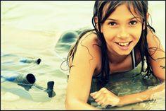 in the lake :) Cute Little Girls, Hoop Earrings, Fashion, Moda, Fashion Styles, Fashion Illustrations, Earrings