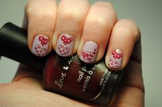 Valentine's nails using @SensatioNail Heirloom Lilac and Konad m59 by TartanHearts, via Flickr