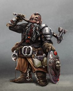 Dwarven Priest, Terry Maranda on ArtStation at https://www.artstation.com/artwork/9kPLy