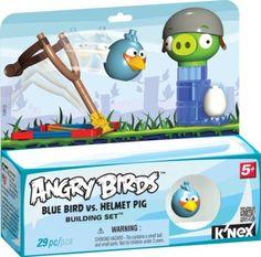 K'NEX Angry Birds Blue Bird versus Helmet Pig Set $8.97 Click here to buy! http://www.amazon.com/gp/product/B007S3S7IO/ref=as_li_qf_sp_asin_il_tl?ie=UTF8=1789=9325=B007S3S7IO=as2=httpthemissfc-20