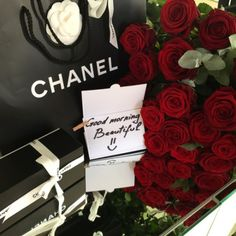 chanel, rose, and luxury Mademoiselle Coco Chanel, Romantic Gestures, Luxe Life, Luxury Lifestyle, Girly Things, Flower Power, Red Roses, Beautiful Flowers, Boquette Flowers