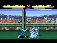 Mighty Morphin Power Rangers (Sega Genesis) - Full Game