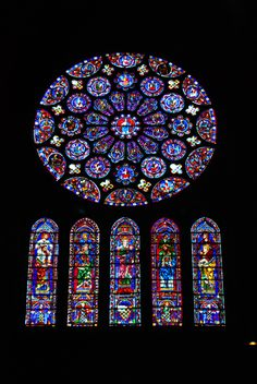 rose window - chartes