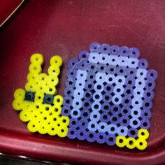Snail perler beads by captivatinglight