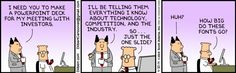 The Dilbert Strip for April 30, 2014