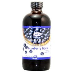 Neocell Hyaluronic Acid Blueberry Liquid 12 Fluid Ounce -- You can get more details by clicking on the image. (This is an affiliate link) Calcium Rich Foods, Best Natural Skin Care, Bottle Packaging, Bone Health, Nutritional Supplements, Vitamins And Minerals, Blueberry