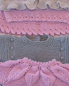 tutoriales de punto a dos agujas en video, gráficos e instrucciones, para bebé y más Knitting Socks, Knitting Needles, Baby Knitting, Baby Blanket Crochet, Crochet Baby, Knit Crochet, Spinning Wool, Knit Stockings, Baby Cardigan