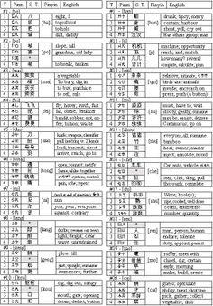 Phonetic Chinese alphabet (PCA)