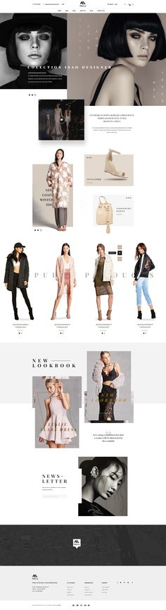 Buy Mercy - Stunning eCommerce PSD Template for Fashion by on ThemeForest. Mercy is a well-designed eCommerce PSD Template that you can absolutely use for publishing and showcasing your produc. Fashion Website Design, Webdesign Inspiration, Ecommerce Web Design, Ui Web, Branding, Web Design Company, Best Web, Marketing, Psd Templates