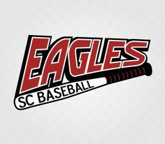 Eagles SC Baseball Logo Design by Kimbec Creative
