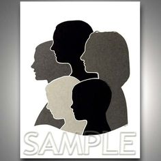 Silhouette Project for Family