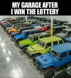 """Jeep: """"When I win the $900M."""