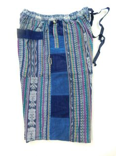 0fdf7e10d1b5 Hand Woven Patchwork Shorts with Corduroy Accents