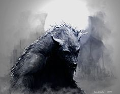 WereWolf Revisited by RexStudio on DeviantArt Mythological Creatures, Fantasy Creatures, Mythical Creatures, Anubis, Apocalypse, Of Wolf And Man, Man Beast, Werewolf Art, Vampires And Werewolves