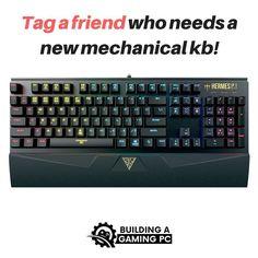 Tag a friend who needs a mechanical keyboard!