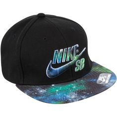 Nike SB Epic Snapback Adjustable Cap, Black, One Size ❤ liked on Polyvore featuring accessories, hats, snapbacks, hats/bows, black hat, black snapback hats, caps hats, nike snapback and cap snapback