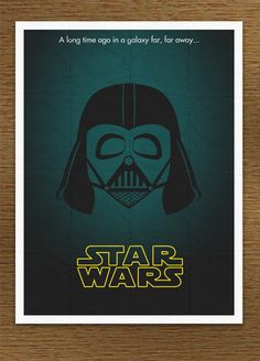 Minimal Star Wars Movie Poster by ~SirMaximillion on deviantART