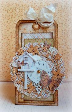 Fall tag *Maja Design* ♥ Scrapbook.com