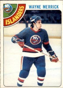Highlights, stats and hockey card information for Wayne Merrick. Wayne played in the NHL with the Blues, California Seals, Cleveland Barons and Islanders. Hockey Cards, Baseball Cards, Nhl, New York Islanders, Stanley Cup, Champs, Trading Cards, Blues, Sports