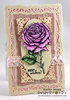 Inspired to Stamp: A Rose to Start the Year!