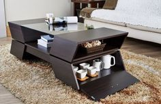 Unique Coffee Tables - We deal with coffee tables as a point of need. It's something you place in front of the sofa to be able to place your coffee, etc