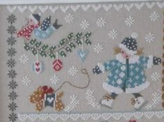 Etape 2 SAL winter in quilt