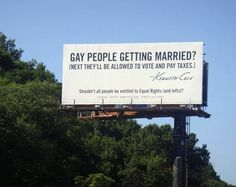 """gay marriage. Just like they said """"next thing you know they'll let hamsters vote"""" when women were finally given that right. Those who consume themselves with the worries of 'allowing' the lgbt community to get married just amaze me. Why don't you focus on your life instead?"""