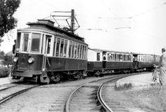 Tram A24 in Edam.