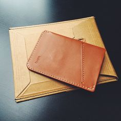 @pierreborodin showcasing the Card Sleeve in Tan