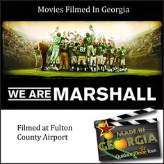 Movies Filmed In Georgia - We Are Marshall filmed at Fulton County Airport