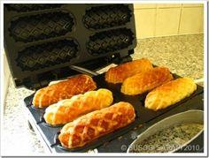 Mini Corn Dogs or Waffle Sausage Dogs - make and freeze