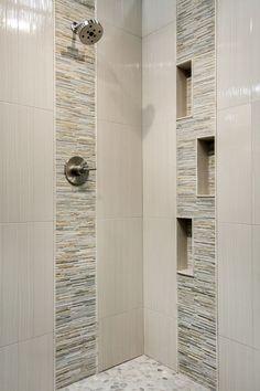 Newest Pic Ceramics tile bathroom Concepts Die besten 25 + Badezimmer Fliesen Ideen 2018 Modern Small Bathrooms, Small Bathroom Tiles, Master Bathroom Shower, Bathroom Tile Designs, Bathroom Design Small, Bathroom Interior Design, Beautiful Bathrooms, Bathroom Flooring, Modern Bathroom