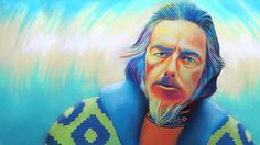 Alan Watts: I seem, like everything else, to be a center, a sort of vortex, at which the whole energy of the universe realizes itself.
