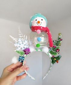 Your place to buy and sell all things handmade Christmas Fair Ideas, Christmas Crafts, Christmas Decorations, Christmas Ornaments, Christmas Headpiece, Christmas Hair Bows, Stall Decorations, Holiday Hats, Ugly Sweater Party