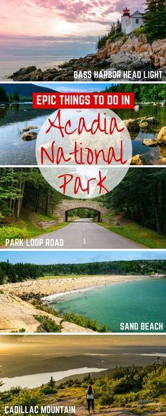 Check out all the best things to do in Acadia National Park, including seeing the sunrise at Cadillac Mountain, hearing the roar of Thunder Hole, and indulging in popovers at Jordan Pond House Camping San Sebastian, Arcadia National Park, Us National Parks, East Coast Travel, East Coast Road Trip, Acadia National Park Camping, Acadia Camping, Places To Travel, Places To Go