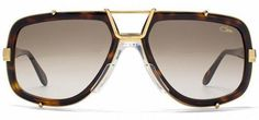 CAZAL 656 LEGENDS VINTAGE SUNGLASSES (624) GOLD BROWN AUTHENTIC