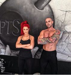 These two are perfect - All For Hair Cutes Bright Red Hair, Red Hair Color, Natalie Eva Marie, Dream Bodies, Wrestling Divas, Fitness Inspiration, Workout Inspiration, Wild Hair, Eva Longoria