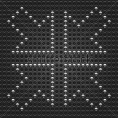 Orientação DE Seta DE Cromo Metálico 4 Textura Padrão Sem Ponto Cinzento Escuro Socou Esta Ilustração Salvo Formato 10 EPS imagem vetorial - VectorHQ.com
