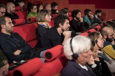 Il pubblico di Looking Around durante l'incontro con Amica Dall e John Bingham-Hall dei collettivi londinesi Assemble e Theatrum Mundi. © Edoardo Piva