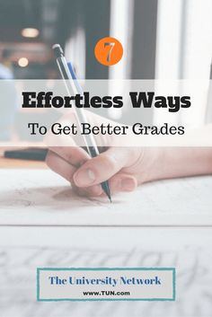 7 Effortless Ways to Get Better Grades (efficiency is what counts!)