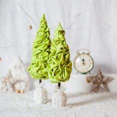 Christmas trees Handmade/textile designer от TanyaLimaHandmade