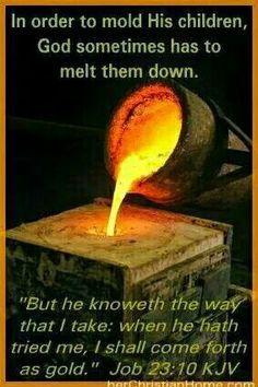 We are the clay, He is the potter.