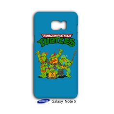 Teenage Mutant Ninja Turtles TMNT Samsung Galaxy Note 5 Case Cover Wrap Around