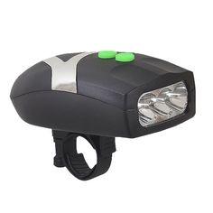 Accesorios de bicicleta Ultra Brillante Camino de Bicicletas de Montaña de la Cola de La Linterna Bicicleta luz Delantera de La Bicicleta de Advertencia de Seguridad LED Negro