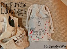 DIY Pirate Loot Bags