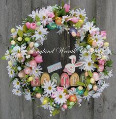 26 Creative and Easy Handmade Easter Wreath Designs