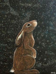 Fox and Fireflies Illustration Archival Art Print ~ Animal Art / Wildlife Art / Children's Wall Art / Fox Art / print / Sleeping Fox Art And Illustration, Lapin Art, Art Carte, Childrens Wall Art, Rabbit Art, Bunny Art, Watercolor Animals, Wildlife Art, Whimsical Art